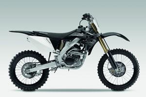Honda's limited edition black CRF250R