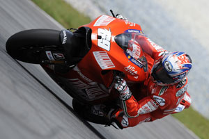 Hayden is still coming to grips with the GP9