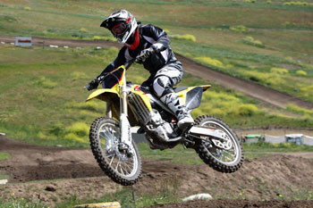 Power is impressive on the new RM-Z250. Image: Garry Morrow.