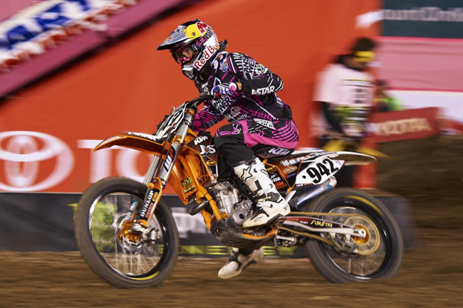 Australia's Tye Simmonds has consistently been improving in his rookie AMA season for JDR/J-Star/KTM.