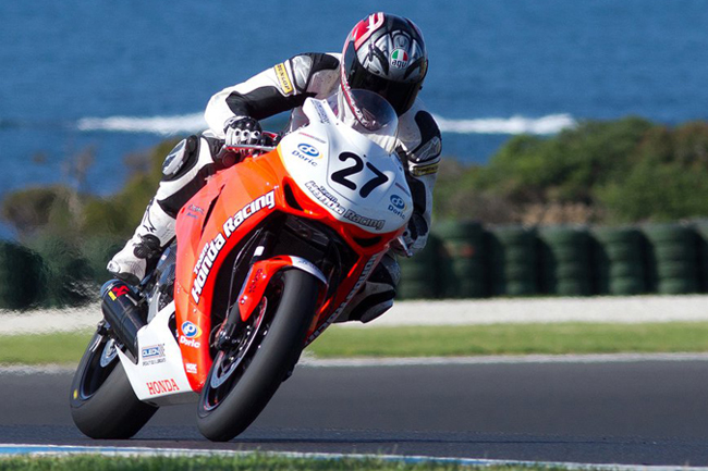 Team Honda Racing's Jamie Stauffer will enter the 2011 ASBK season as favourite alongside teammate Wayne Maxwell. Both were fast at Phillip Island yesterday.