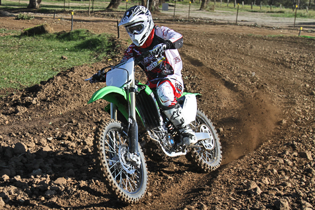 Kawasaki has released an all-new KX450F for 2012 and it's already in Australian dealers. Image: Guy Streeter.