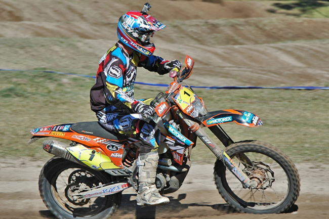 Toby Price successfully defended his A4DE title for Motorex KTM Off Road Racing last weekend.