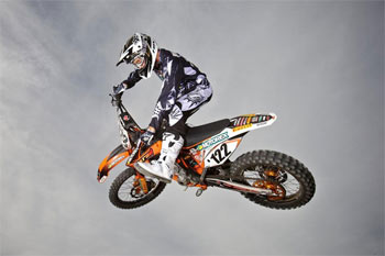 Reardon to remain on standard KTM 450 SX-F... for now