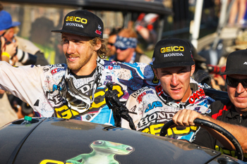 Battle of teammates shaping up between Tomac and Barcia