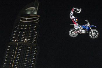 Pagès takes out top qualifying spot for Red Bull X-Fighters Dubai