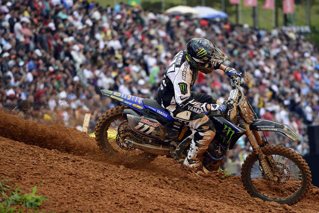 Aussie Dean Ferris was sixth in the MX2 GP of Brazil.