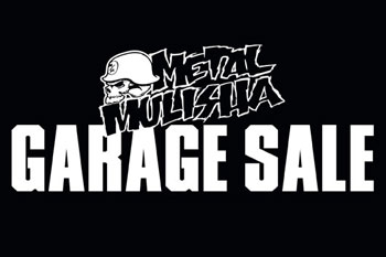Metal Mulisha currently hosting Garage Sale in Queensland