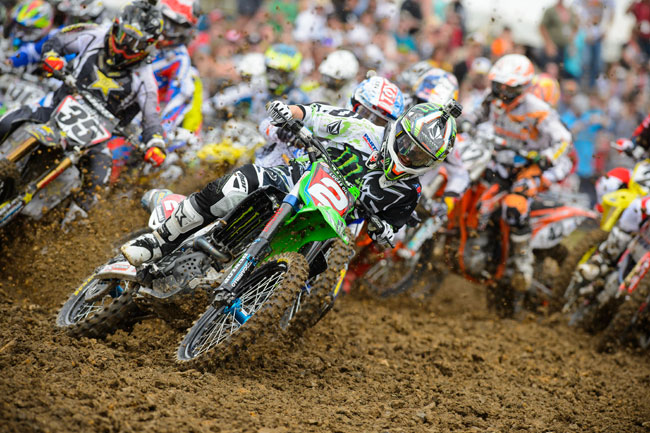 Ryan Villopoto took the overall 450 Class win at Mt. Morris. Image: Simon Cudby.