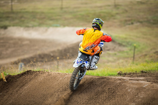 Reardon was impressed with the torque of CDR's YZ450F. Image: Greg Smith/iKapture.