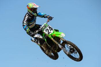 Brett Metcalfe will contest the final three Australian Supercross rounds. Image: Simon Cudby.