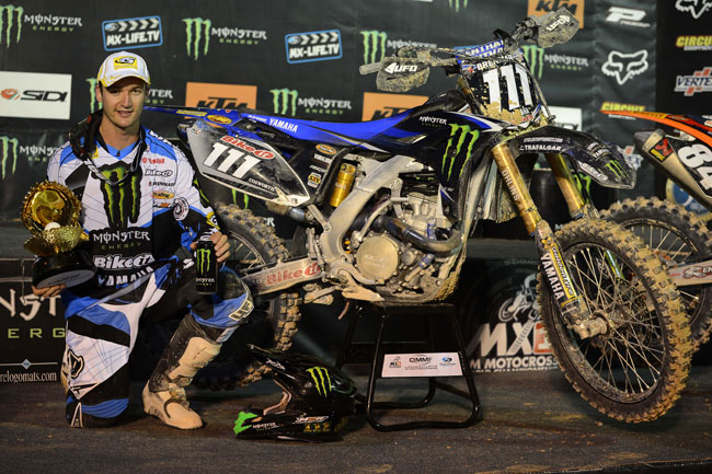 Multiple MXGP podiums and a round win highlighted Ferris' 2013 campaign.