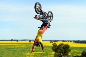 Strong in for FMX Best Trick at Sydney's AUS-X Open