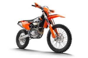 Bike: 2017 KTM EXC-F and EXC Range