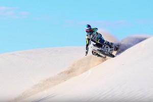 Viral: Husqvarna's TC 250 in the dunes