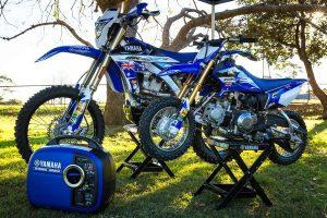 Yamaha bLU cRU fundraiser to support Australian ISDE team
