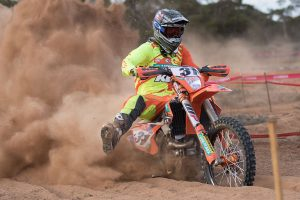 KTM 1-2 as mighty Milner maintains unbeaten run in a testing AORC
