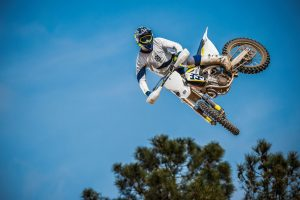 Zach's number one inspires a massive number one runout for Husqvarna