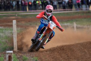 KTM off-road team trio dominate Hattah podium