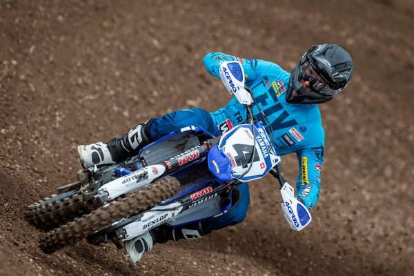 Positive 2018 YZ450F shakedown for Tonus at Loket