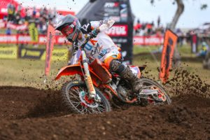 Top 10 results for Raceline Pirelli KTM at round eight of the MX Nationals
