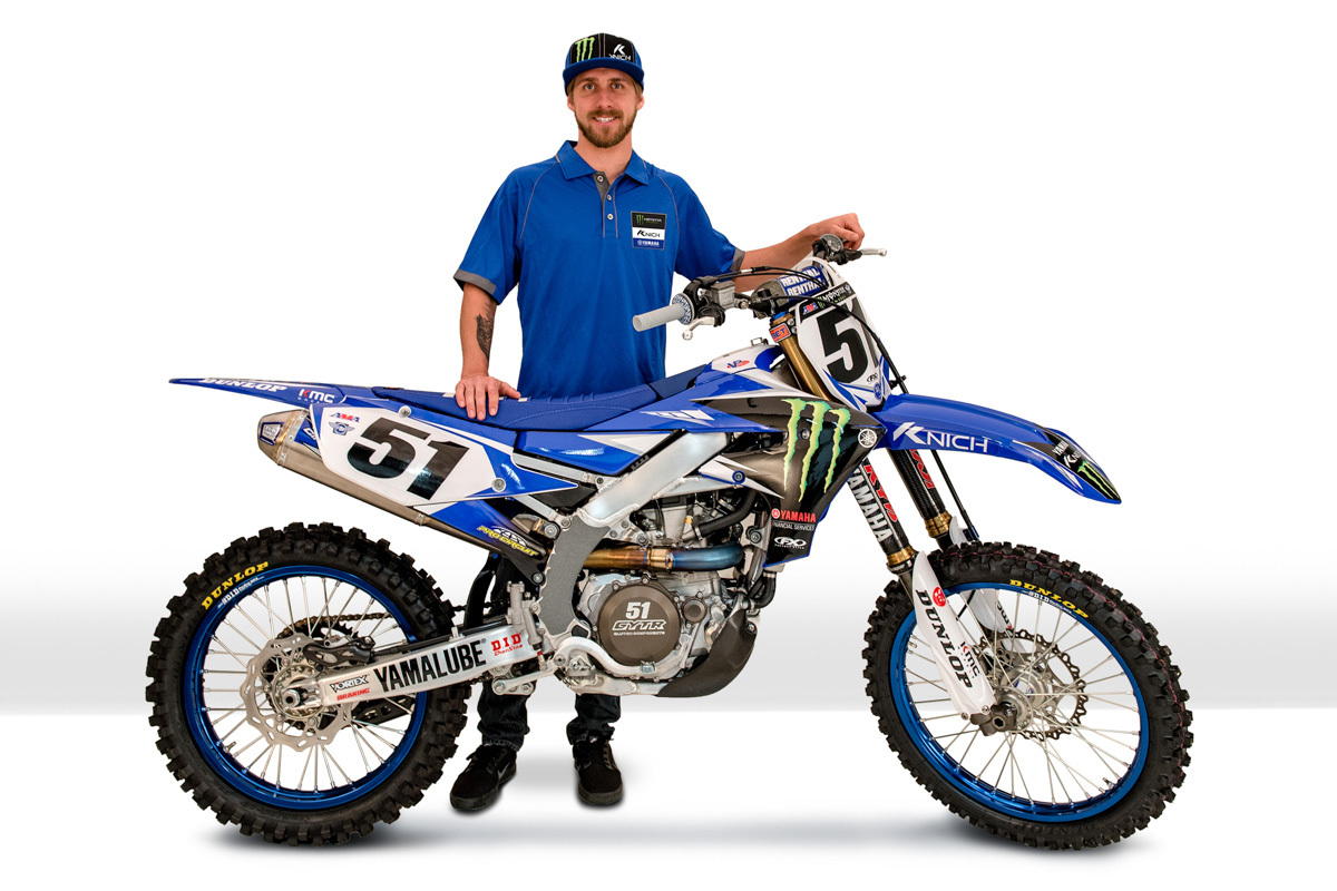 Yamaha Confirms Barcia Through First Six Supercross Rounds
