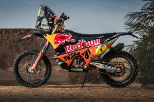 Wallpaper: 2018 Red Bull KTM 450 Rally