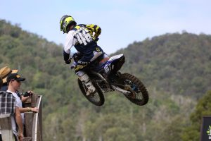 McKay and Malkiewicz form Bulk Nutrients Yamaha MXD team