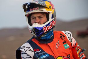 A long way to go in final week of Dakar says Price