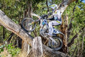 Four-stroke transition for Sanders in AORC homecoming