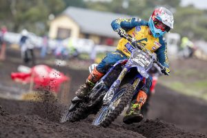 Todd inherits MX2 points lead in chaotic fourth round at Wonthaggi