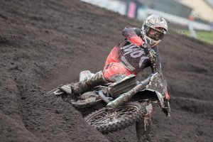 Podium for Mosig and DPH Husqvarna