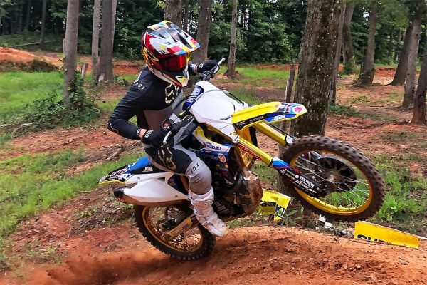 Reed samples factory Suzuki RM-Z450 in JGRMX test
