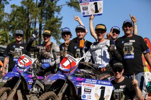1-2 finish for WBR Yamaha in MXD Champs