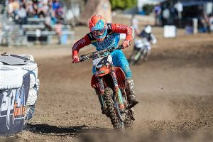 KTM's Clout battles through Gladstone's penultimate MX Nationals round