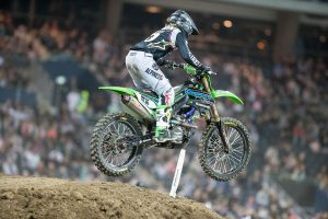 Triple crown top five for Complete Parts Kawasaki Racing's Owen in Geelong supercross