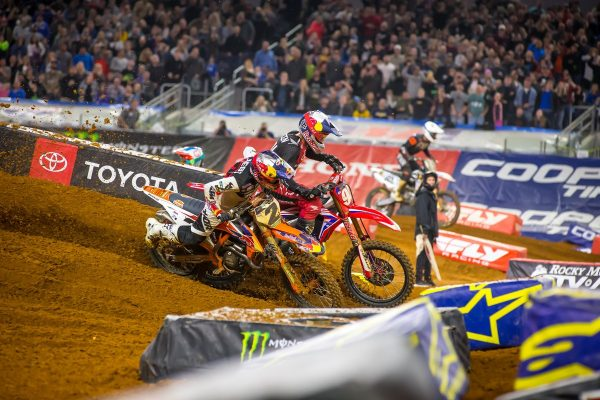 Roczen anticipated Webb manoeuvre in Arlington showdown