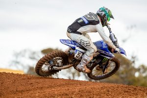 Shoulder concern for Gibbs following moto two non-finish