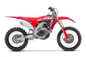 Revised 2020 Honda CRF450R and CRF250R models break cover