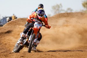 Walsh fastest to Finke in day one of racing