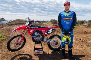 One-off title sponsor for Honda's Blose in opening SX2 round