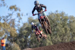 Tough Day at the Office for Webster & Budd at Moree MX Nationals