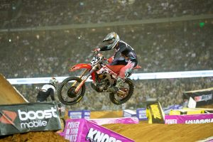 Memorable Marvel Stadium AUS-X Open a fitting finale for Penrite Pirelli CRF Honda Racing Team