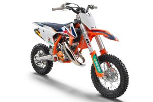 Detailed: 2021 KTM 50 SX Factory Edition