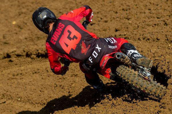 Sixth in Faenza a further sign of Evans improvement