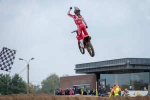MXGP champion Gajser extends advantage at Lommel