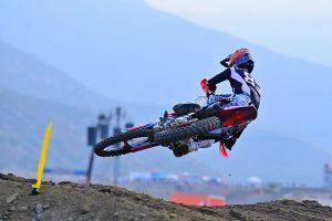 First-career Pro Motocross moto win for Jett Lawrence