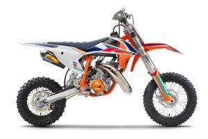 Detailed: 2022 KTM 50 SX Factory Edition